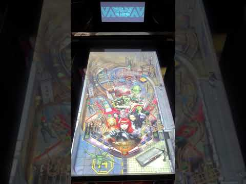 Arcade1up Pinball Women of Power A-Force Gameplay from Kevin F