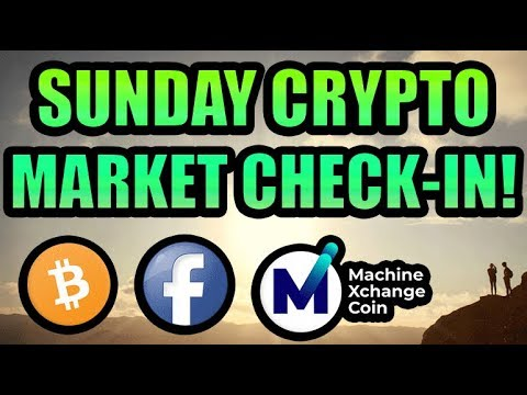 Sunday Crypto Market Check In! PLUS: Machine Xchange Coin Re