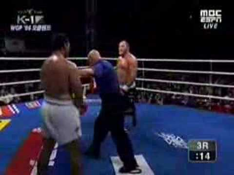 Ray Sefo vs Francois Botha round3