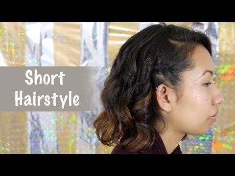 Quick Everyday Hairstyle for Short Hair/ Bobs - All Things Hair | Eva Chung thumbnail