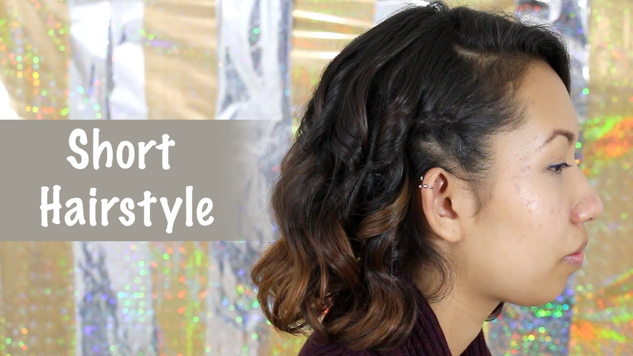Quick Everyday Hairstyle For Short Hair Bobs All Things Hair