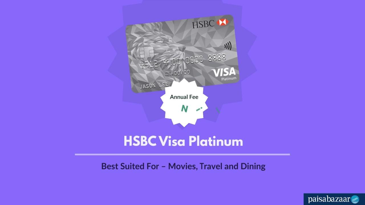 HSBC Platinum Credit Card : Apply Online at Paisabazaar com - 11