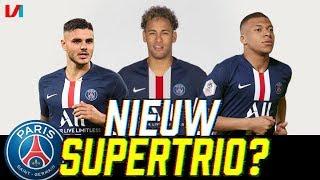 Lastige Neymar & Icardi Samen In 1 Team: 'Ik Wens PSG Veel Succes!'