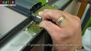 Cubicle Installation Video - T Panel- Office Cubicle / Workstation  By Skutchi Designs Inc.