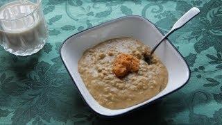 Pumpkin Pie Oatmeal Recipe - Vegan Breakfast