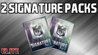 Madden Mobile 16 - 2 Signature Packs!