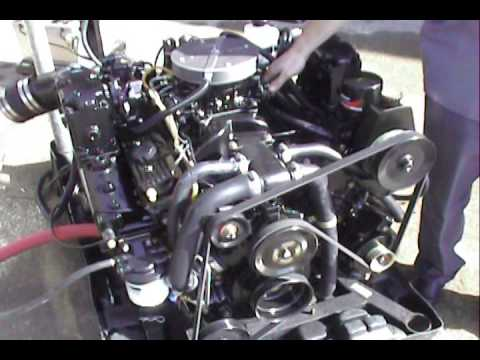 350 Tbi Wiring Diagram Mercruiser 357 Mag Bravo 4v Youtube