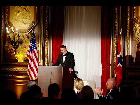 Norwegian - American Trade Award to KONGSBERG