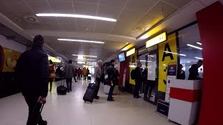 Landing & Belgrade Airport Terminal 2017 HD Gopro