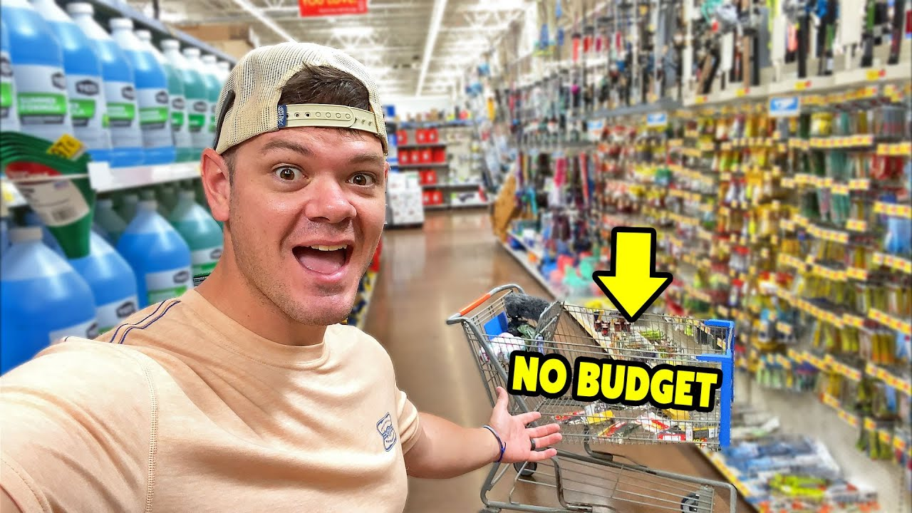 NO Limit NO Budget Fishing Tackle Shopping Spree!