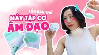 Woman tips #7 | Lần đầu thử máy tập cơ âm đạo Elvie ♡ Hana Giang Anh