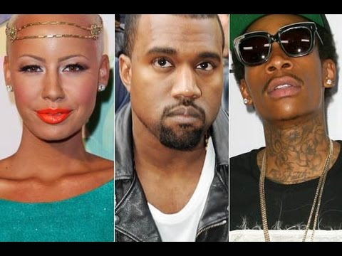Kanye West BLASTS Wiz Khalifa over Misunderstood Tweet and Violates his Son. Amber Rose Responds.