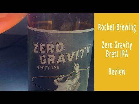 Rocket Brewing Co. Zero Gravity Brett IPA | A Rock on Beer Blog Review