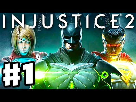 Injustice 2 – Gameplay Part 1 – Batman! Chapter 1: Godfall (Story Mode Walkthrough Ep 1)