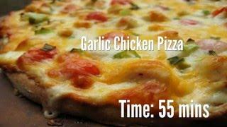 Garlic Chicken Pizza Recipe