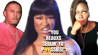 Nicki Minaj Drags her fans for FILTH for criticizing her marriage to a convicted Rap!st | @TonyaTko