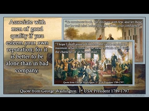 George Washington Quotes Top 60 Quotes YouTube Best Quotes About George Washington