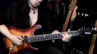 GARY MOORE - The LONER covered by Kelly SIMONZ
