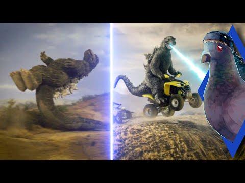 Momentos engraçados de Godzilla