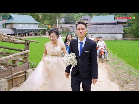 Đám cưới chú rể 87 cô dâu 2K1 Bầu 7 tháng - Đám cưới  dân tộc thái Lũng Cao