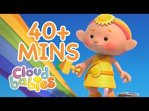 Cloudbabies | Painting Stories | Bedtime Stories for Kids