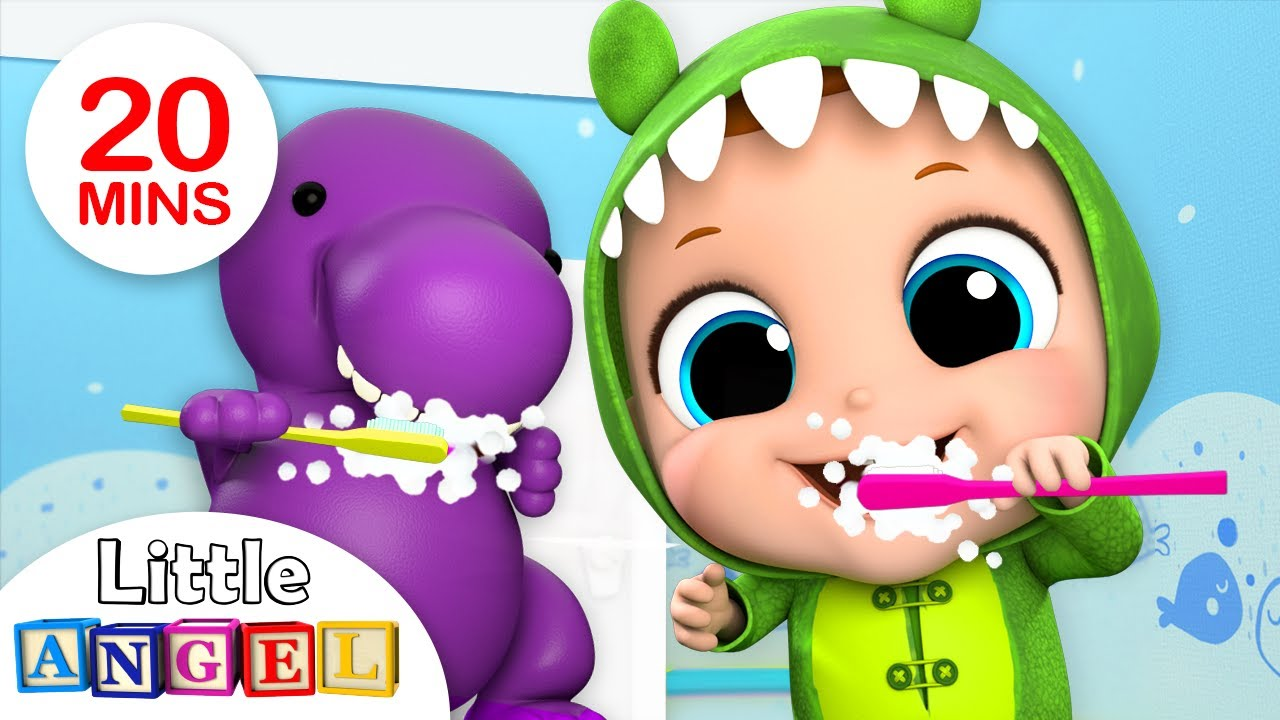 Yes Yes Bedtime Song | Brush Your Teeth | Nursery Rhymes by Little Angel