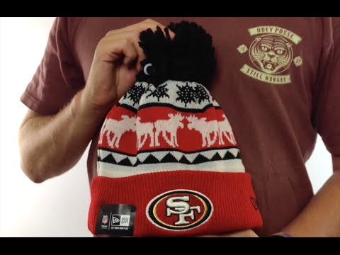 8d861d53 49ers 'THE-MOOSER' Knit Beanie Hat by New Era