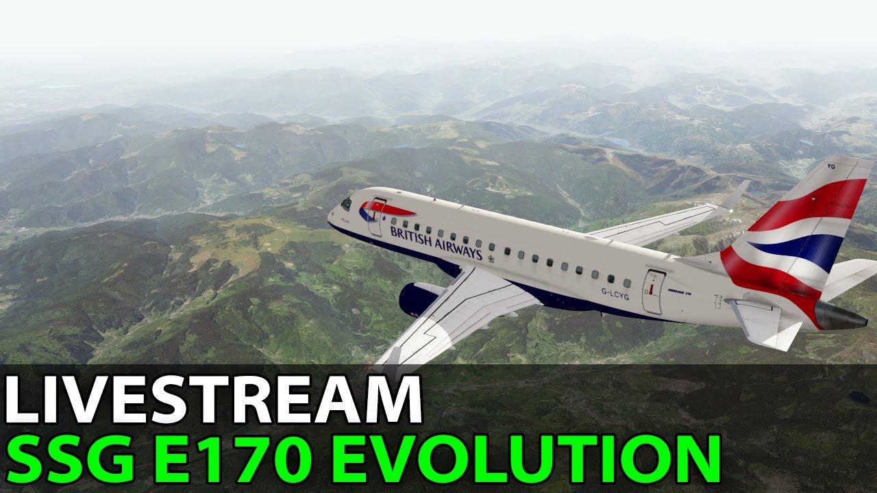 Xplane Dedicated:Cold and Dark Start Embraer 170 vlog_177 by