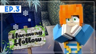 An Ice Dungeon? | Minecraft: Harmony Hollow SMP - S3 Ep.03