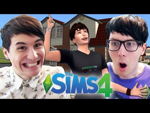 DIL'S DREAM HOUSE - Dan and Phil Play: The Sims 4 #2