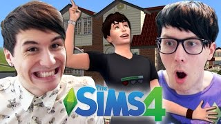 One of DanAndPhilGAMES's most viewed videos: DIL'S DREAM HOUSE - Dan and Phil Play: The Sims 4 #2