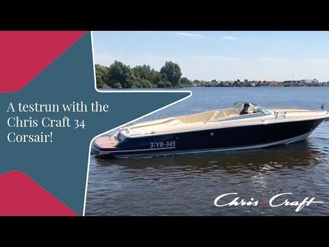 Chris Craft 34 Corsair Testdrive