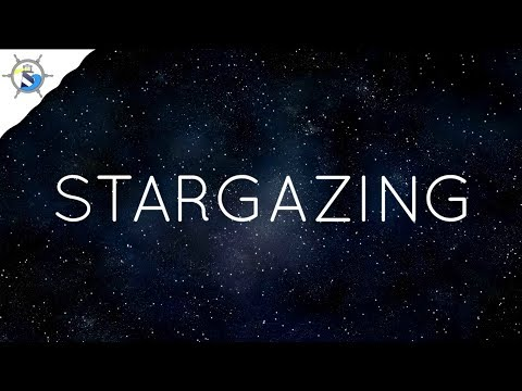 ASMR Stargazing | Soft Talking + Relaxing Music + Outdoor Sounds and more