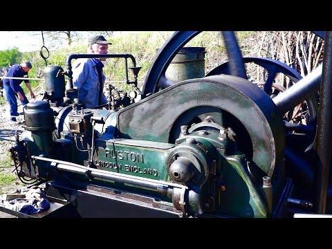 Ruston 28 Hp Motor 1 Cyl Motorsamlingen Dju