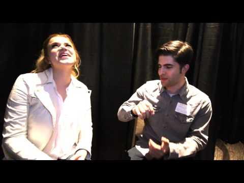 Brandon Jay Interviews Macy Martin At CRS In Nashville, TN