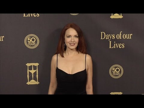Amy Yasbeck Red Carpet Style at Days of Our Lives 50 Anniversary Party