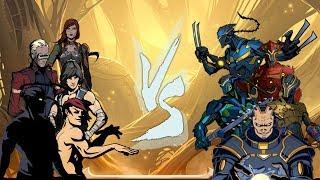 Shadow Fight 2 TITAN ARMY Vs SHADOW SQUAD