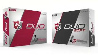 Wilson Staff DUO Soft Golf Ball Comparison
