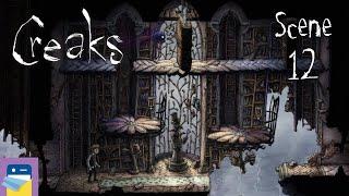 Creaks: Scene 12 Walkthrough & iOS Apple Arcade Gameplay (by Amanita Design)
