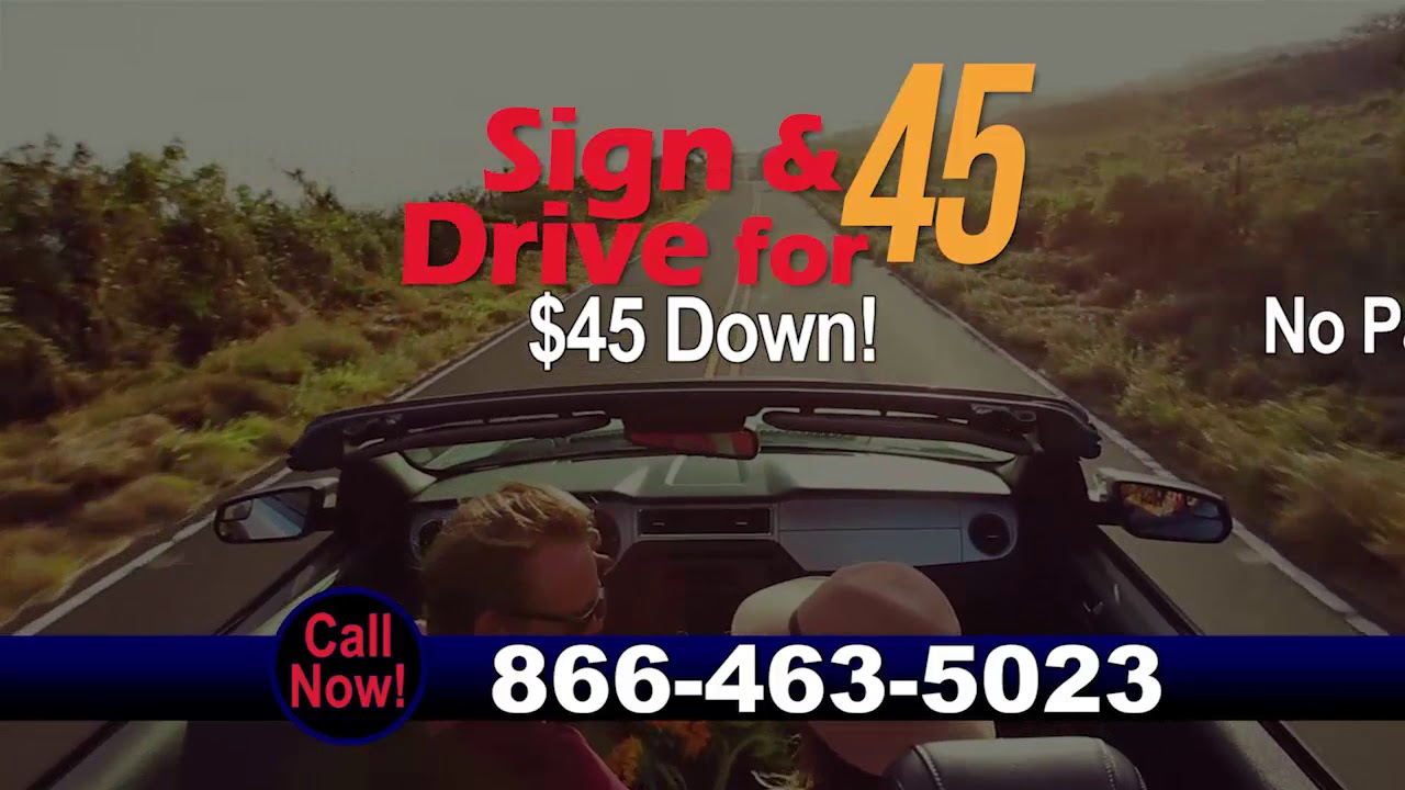 Sign And Drive 45 >> Sign Drive For 45