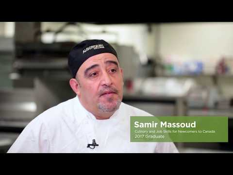 Kitchen skills: Syrian refugee preps a new dream in Algonquin's culinary labs