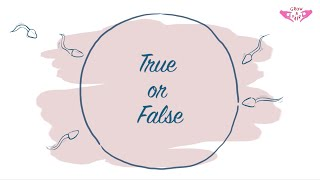 Birth Control - True or False