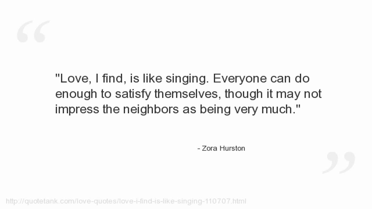 Zora Hurston Quotes Youtube