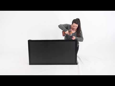 How to Assemble the Hinged Modular Chalkboard Display