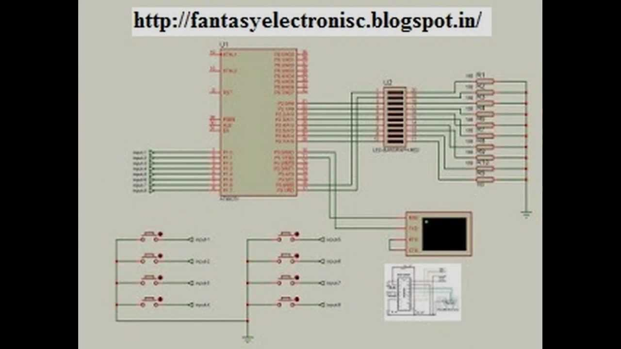 Gsm Based Home Security System Using 8051 Circuit Diagram Modem Interfacing With Microcontroller At89c51 Base Alarm