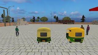 modern Tuk Tuk Rickshaw Driving- City mountain Auto Driver Android Game play #1 screenshot 4