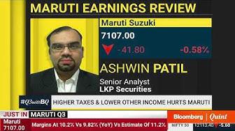 Maruti Suzuki Q3 Results: Profit Meets Estimates, Margin Expands