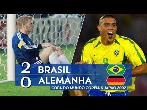 🔥 Бразилия - Германия 2-0 - Обзор Матча Финал Чемпионата Мира 30/06/2002 HD 🔥