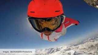 Wingsuit flyers make history with Matterhorn summit jump
