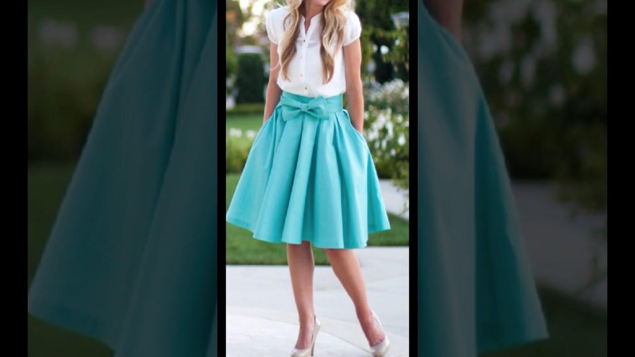 hermosos dise os de faldas youtube